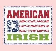 American Irish Baby Tee