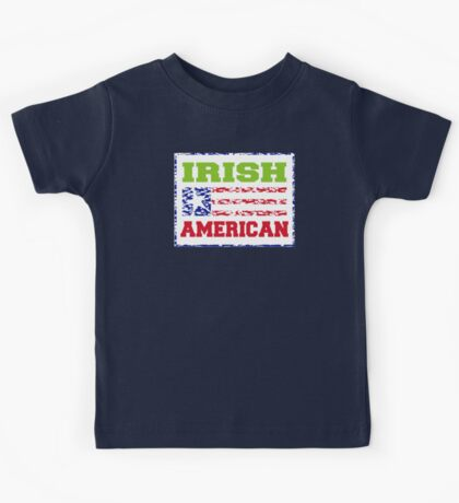 Irish American Kids Tee