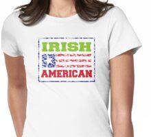 Irish American Womens Fitted T-Shirt