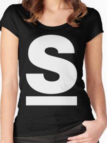 S Monogram - MC Serch Women's Fitted Scoop T-Shirt