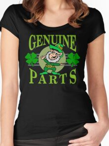 Genuine Irish Parts Women's Fitted Scoop T-Shirt