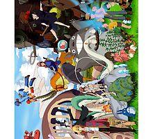Studio Ghibli Characters 2 by VictorAddison