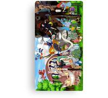 Studio Ghibli Characters 2 Canvas Print