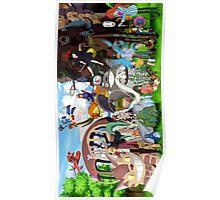 Studio Ghibli Characters 2 Poster
