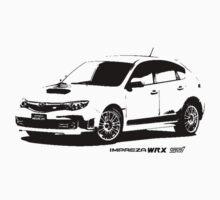 Subaru Impreza WRX STI 2008 by garts