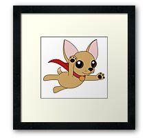 Super Chihuahua! Framed Print