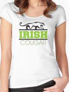 Irish Cougar Women's Fitted Scoop T-Shirt