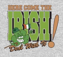 Here Come The Irish One Piece - Short Sleeve