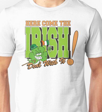 Here Come The Irish Unisex T-Shirt