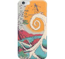 Surf Before Cristmas iPhone Case/Skin