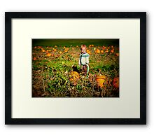 At the Patch Framed Print