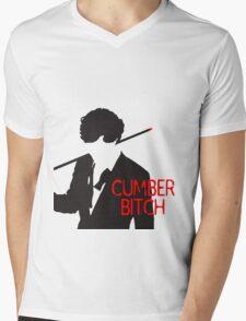 Cumberbitch Mens V-Neck T-Shirt