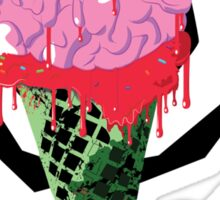 I Scream For Ice Cream!!! (BRAAAAIIINNSSSS) Sticker