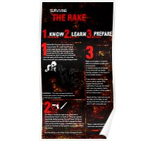Surviving the Rake Poster Poster