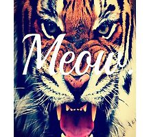 Meow Angry Tiger by VictorAddison