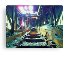 Morning Light: Huber Breaker Coal Chute Canvas Print