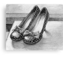 Favorite Shoes Canvas Print