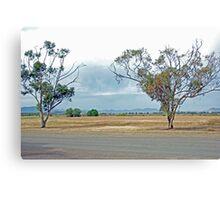 Scenic beauty in Hawker Canvas Print