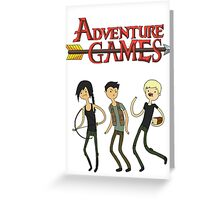 Adventure Games Greeting Card