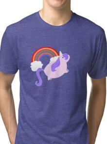 Unicorns & Rainbows! Tri-blend T-Shirt
