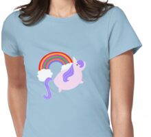 Unicorns & Rainbows! Womens Fitted T-Shirt