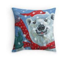 Winter Really is a Blast! Throw Pillow