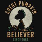 Great Pumpkin Believer by AJ Paglia