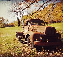 Autumn Truck by Susan S. Kline