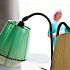 Vintage lamps at Nannas by Cecily  Graham