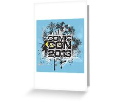 Comic Con 2013 Greeting Card