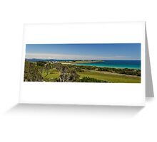 Low Head panorama - Tasmania Greeting Card