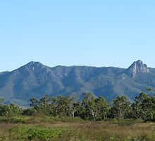 'The Pinnacles' Townsville, Queensland. by Rita Blom