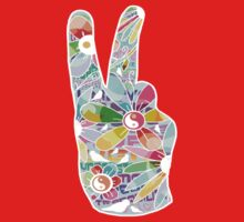 Peace sign Kids Clothes