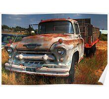 Rusty Chevrolet Poster