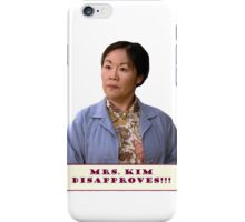 DISAPPROVES!!! iPhone Case/Skin