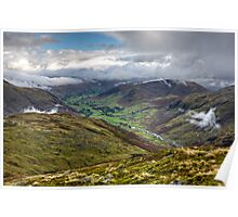 Great Langdale Valley - Cumbria Poster