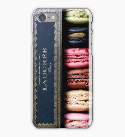 Laduree macaron iPhone Case/Skin