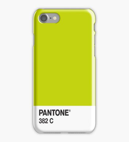Pantone 382c iPhone Case/Skin