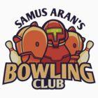 Samus Aran's Bowling Club by cronobreaker
