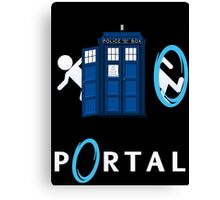Portal Who Canvas Print