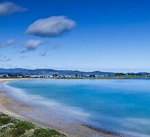 East Beach panorama - Low Head Tasmania by fotosic