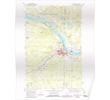 USGS Topo Map Washington State WA Newport 242817 1968 24000 Poster