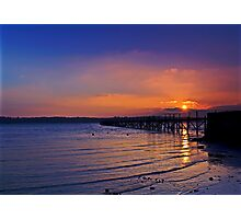 Sunset Bay Photographic Print