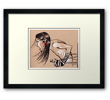 Death Audio Framed Print