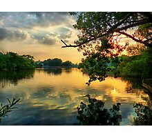 Sunset at the Park Photographic Print