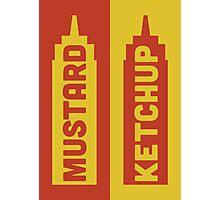 Ketchup, Mustard Photographic Print