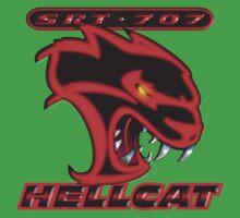 Hellcat - Red & Black One Piece - Short Sleeve