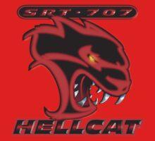 Hellcat - Red & Black Baby Tee