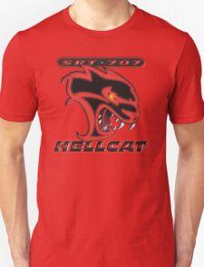Hellcat - Red & Black Unisex T-Shirt