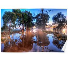 Water Water Everywhere - Junee, NSW - The HDR Experience Poster
